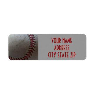Etiquetas de dirección del béisbol