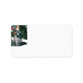Etiquetas de dirección del Impresión-a--Borde de A