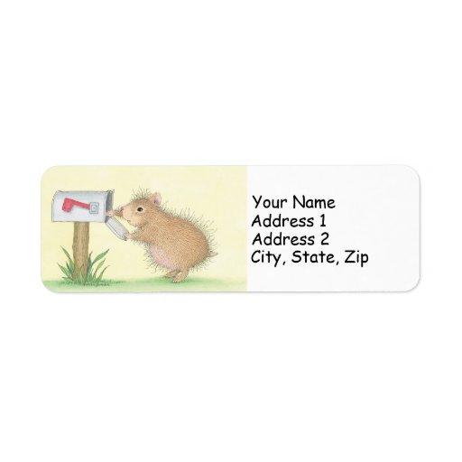 Etiquetas de dirección pequenitas de Poppets®