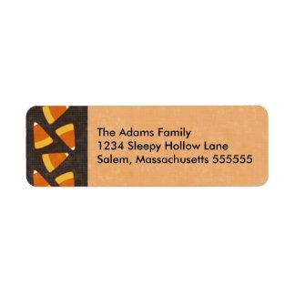 Etiquetas de dirección personalizadas pastillas de