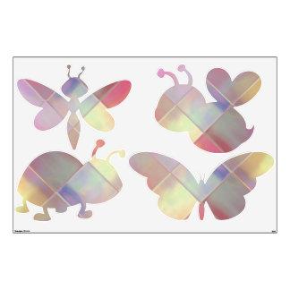 Etiquetas de encargo de la pared del arte en vinilo adhesivo