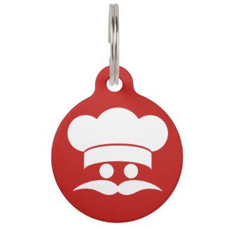 Etiquetas de encargo del mascota del color del coc placas de mascota