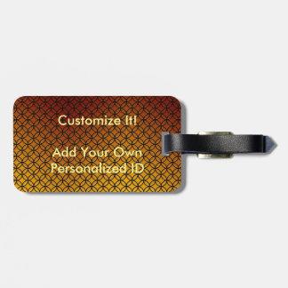 Etiquetas de encargo personales del equipaje