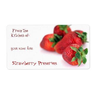 Etiquetas de enlatado de la fresa etiqueta de envío