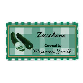 Etiquetas de enlatado del personalizado del calaba etiqueta de envío