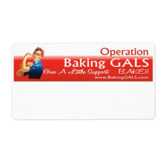 Etiquetas de envío del logotipo de OBG