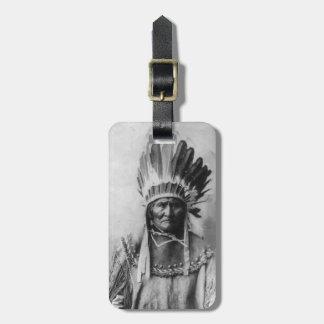 Etiquetas de Geronimo para el equipaje Etiquetas De Maletas