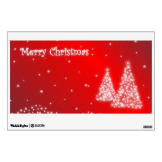 Etiquetas de la pared de las Felices Navidad