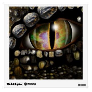 Etiquetas de la pared del ojo del dragón vinilo
