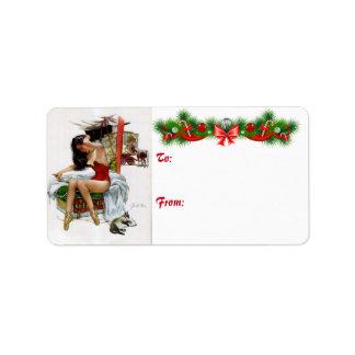 Etiquetas de las etiquetas del regalo del Pin-Para Etiqueta De Dirección