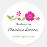 Etiquetas de las flores de cerezo para los artícul
