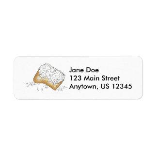 Etiquetas de los pasteles del buñuelo de New Etiquetas De Remite