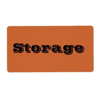 Etiquetas de mudanza del almacenamiento en moho etiquetas de envío