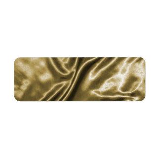 Etiquetas de seda de la textura etiquetas de remite
