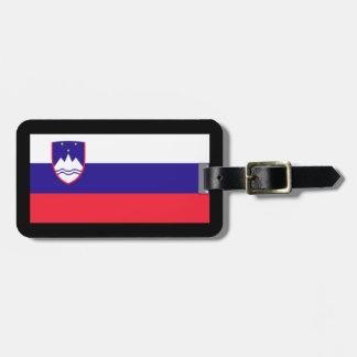 Etiquetas del equipaje de Eslovenia Etiqueta De Maleta