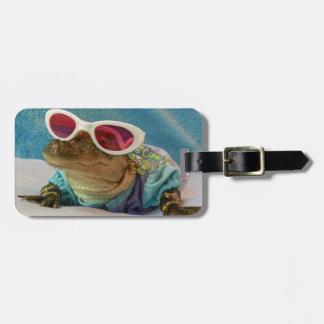 Etiquetas del equipaje de las gafas de sol del coc etiquetas de equipaje