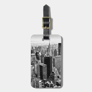Etiquetas del equipaje de New York City Etiqueta Para Maleta