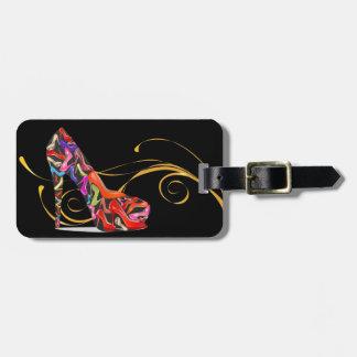 Etiquetas del equipaje/del bolso del tacón alto etiqueta para maleta