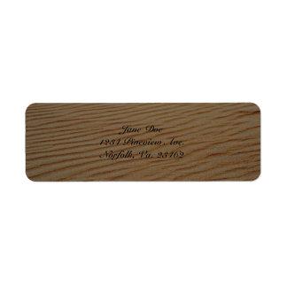 Etiquetas del extracto de la duna de arena etiqueta de remitente