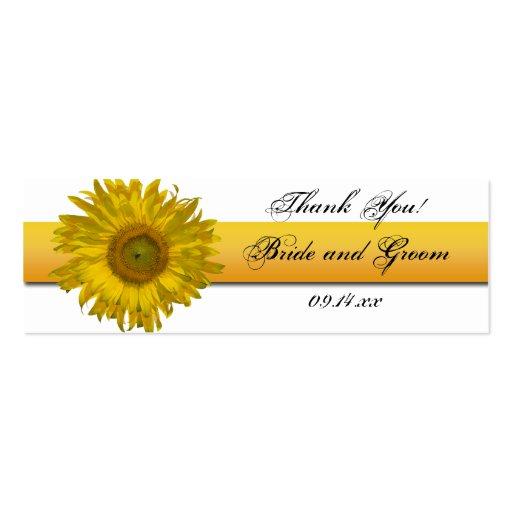 Etiquetas del favor del boda de la raya del giraso tarjetas de visita