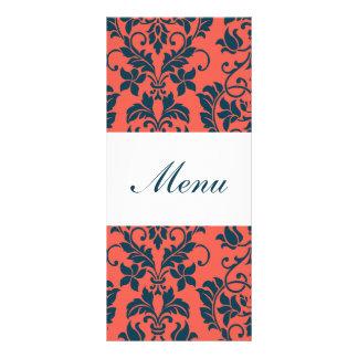 Etiquetas del menú del boda de la marina de guerra lonas