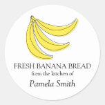 Etiquetas del pan de plátano, de la cocina de…