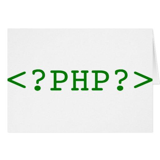 Etiquetas del PHP Felicitaciones