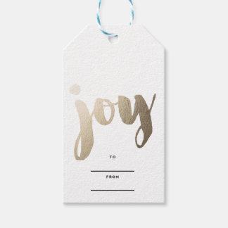 Etiquetas del regalo de la ALEGRÍA Etiquetas Para Regalos