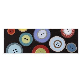 Etiquetas del regalo de los botones plantillas de tarjetas personales