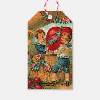 Etiquetas del regalo del amor de la tarjeta del etiquetas para regalos