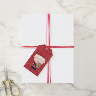Etiquetas del regalo del cerdo del tiempo del etiquetas para regalos