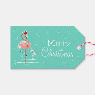 Etiquetas del regalo del lado del flamenco del etiquetas para regalos
