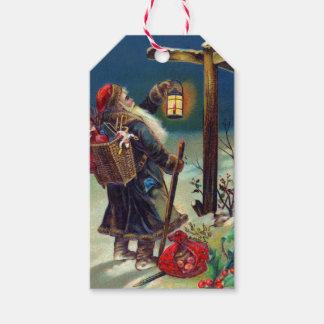 Etiquetas del regalo del navidad de Papá Noel del Etiquetas Para Regalos