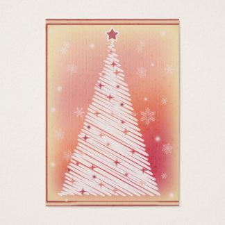 Etiquetas del regalo del navidad del país tarjetas de visita grandes