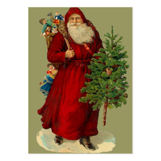 Etiquetas del regalo del navidad del vintage plantillas de tarjetas personales