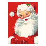 Etiquetas del regalo del navidad del vintage tarjeta de negocio