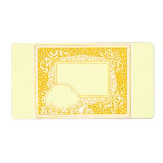 Etiquetas del regalo para el tarro del regalo o…. etiquetas de envío