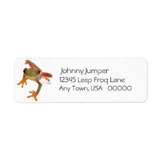 Etiquetas del remite de Crazy Frog Etiquetas De Remite