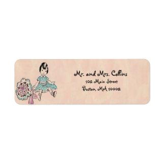 Etiquetas del remite de Dollie Etiqueta De Remitente