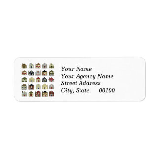etiquetas del remite del agente inmobiliario etiqueta de remitente