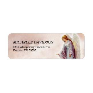 Etiquetas del remite del ángel del Victorian Etiquetas De Remite