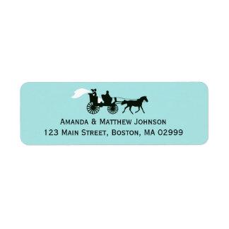 Etiquetas del remite del cuento de hadas del cabal etiqueta de remite