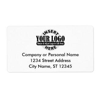 Etiquetas del remite del negocio etiqueta de envío