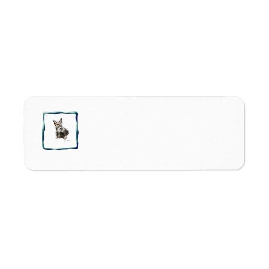 etiquetas del remite del perro etiqueta de remite