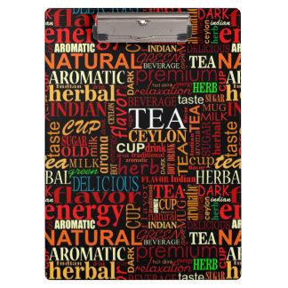 Etiquetas del té