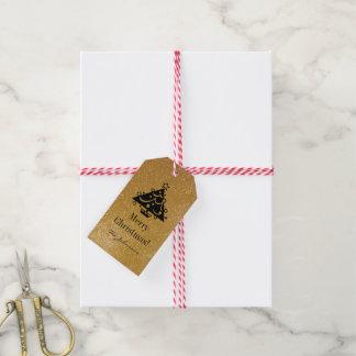 Etiquetas elegantes de encargo del regalo del etiquetas para regalos