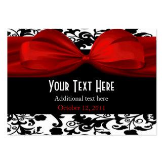 Etiquetas elegantes del regalo de boda tarjeta personal