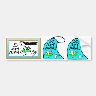 Etiquetas engomadas de parachoques 3 en 1 pegatina de parachoque