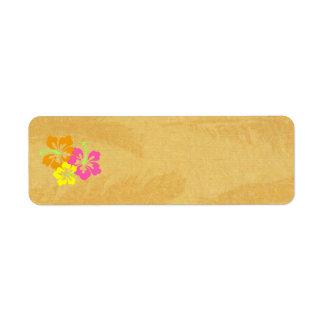 Etiquetas: Etiquetas del hibisco Etiquetas De Remite