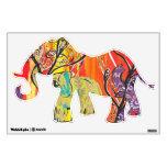 Etiquetas felices de la pared del desfile del elef